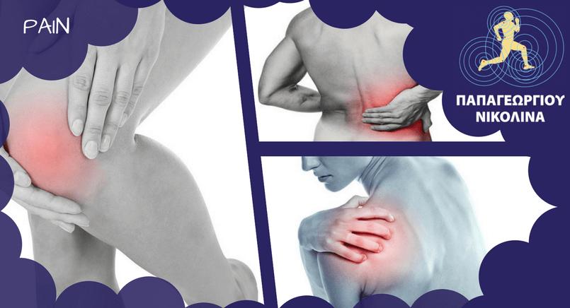 Οστεοαρθρίτιδα Γόνατος | Τενοντίτιδα ώμου | Οσφυαλγία