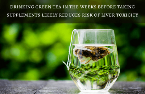 drinking-green-tea-before-taking-supplements