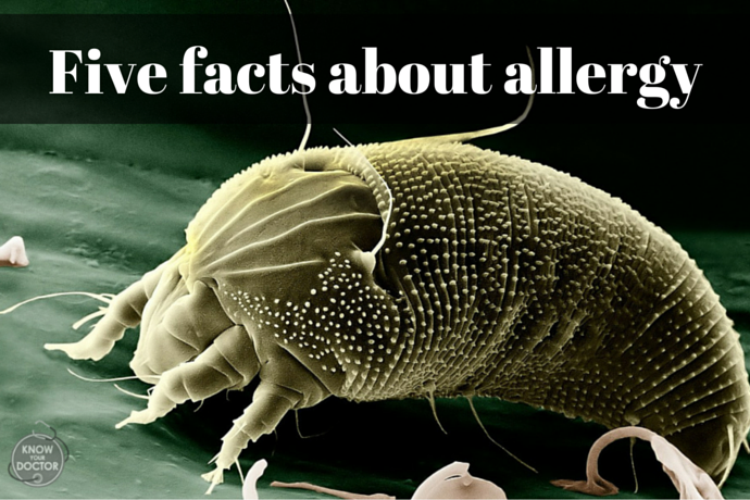 Five facts about allergy