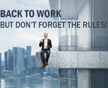 Πώς να ανακτήσετε από το Back to Work Blues