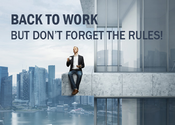 How to Recover from Back to Work Blues