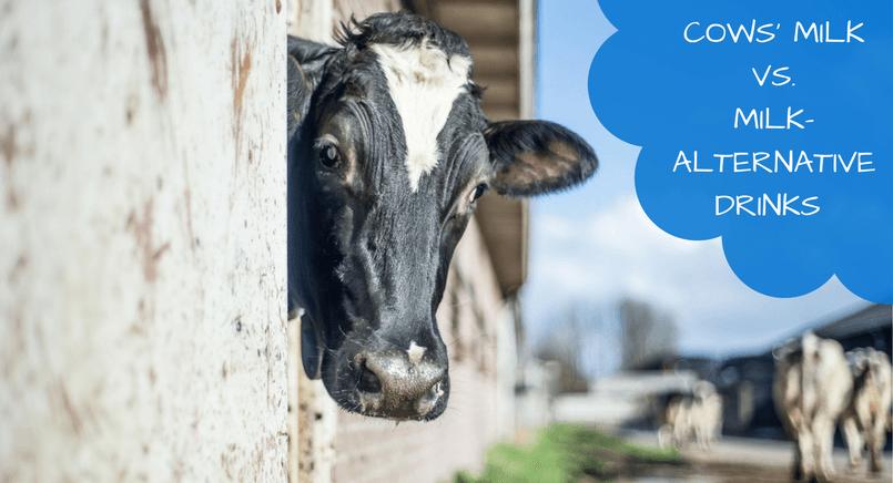 Milk-alternative drinks do not replace the iodine in cows' milk