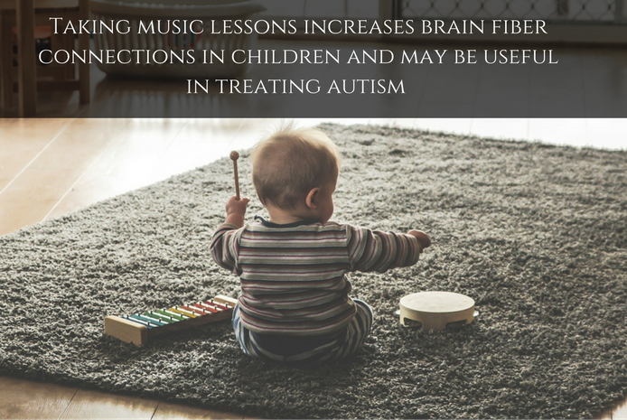 Musical training influences kids brain