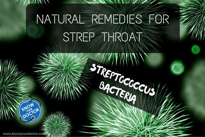 Natural Remedies – Strep Throat