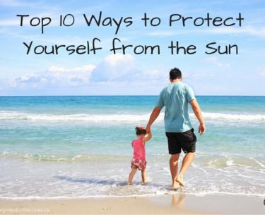 Προστατεύστε τον εαυτό σας από τον ήλιο