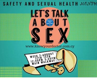 Μήνας ευαισθητοποίησης της σεξουαλικής υγείας