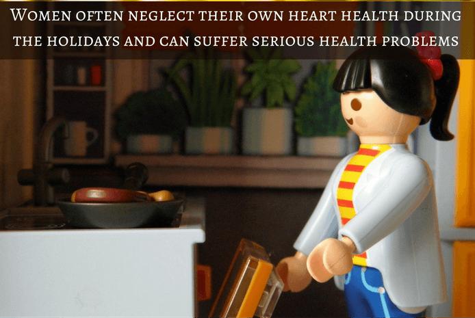Silent heart attack in women