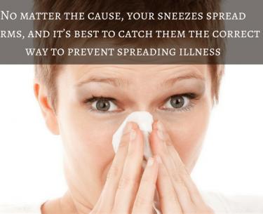 Ο καλύτερος τρόπος για να καλύψετε το φτάρνισμα σας