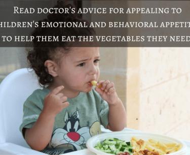 Κερδίζοντας τον πόλεμο: Πώς να πείσετε τα παιδιά να τρώνε περισσότερα λαχανικά