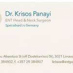 Dr Krisos Panayi – ENT Consultant (3)
